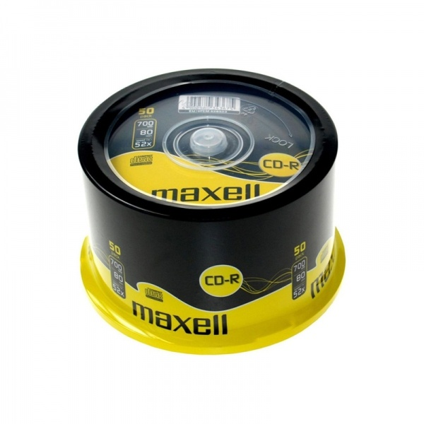 Maxell CD-R 700 MB 52X 50'li